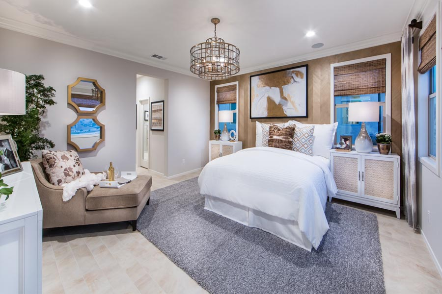 Residence 3 Master Bedroom | Prado at the Village of Escaya in Chula Vista, CA | Brookfield Residential