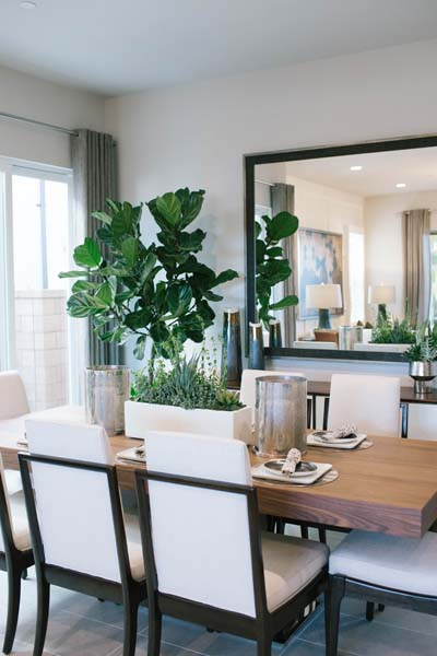 Dining Detail Residence 1 | Beverly at Eastwood Village in Irvine, CA | Brookfield Residential