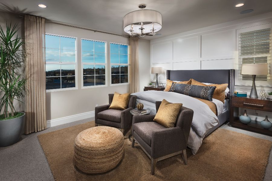 Master Bedroom | Beverly at Eastwood Village in Irvine, CA | Brookfield Residential