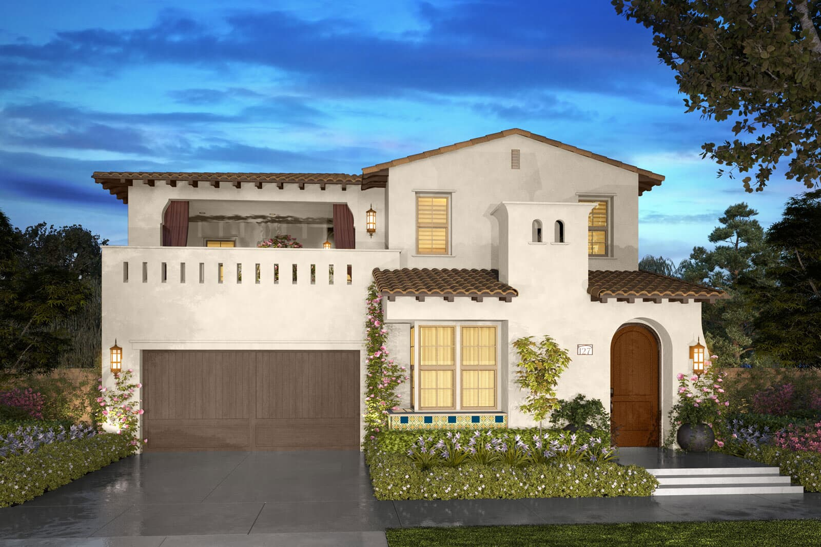 Residence 2A rendering | Beverly at Eastwood Village in Irvine, CA | Brookfield Residential