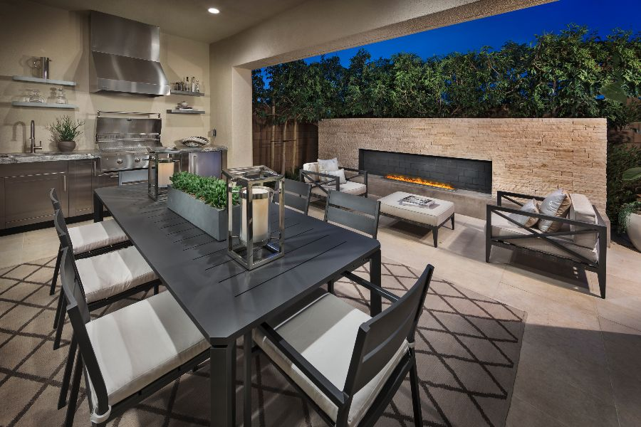 California Room | Beverly at Eastwood Village in Irvine, CA | Brookfield Residential