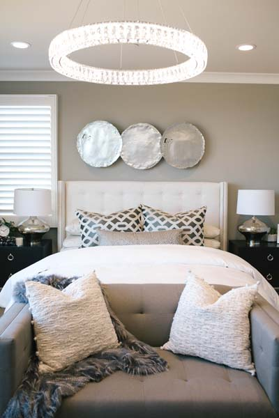 Master Bedroom Detail Residence 3 | Beverly at Eastwood Village in Irvine, CA | Brookfield Residential