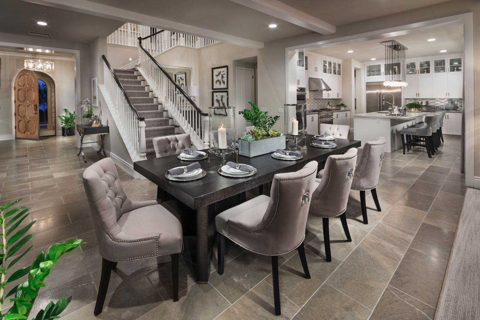 Dining Room | Beverly at Eastwood Village in Irvine, CA | Brookfield Residential