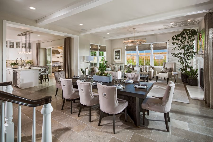 Great Room | Beverly at Eastwood Village in Irvine, CA | Brookfield Residential