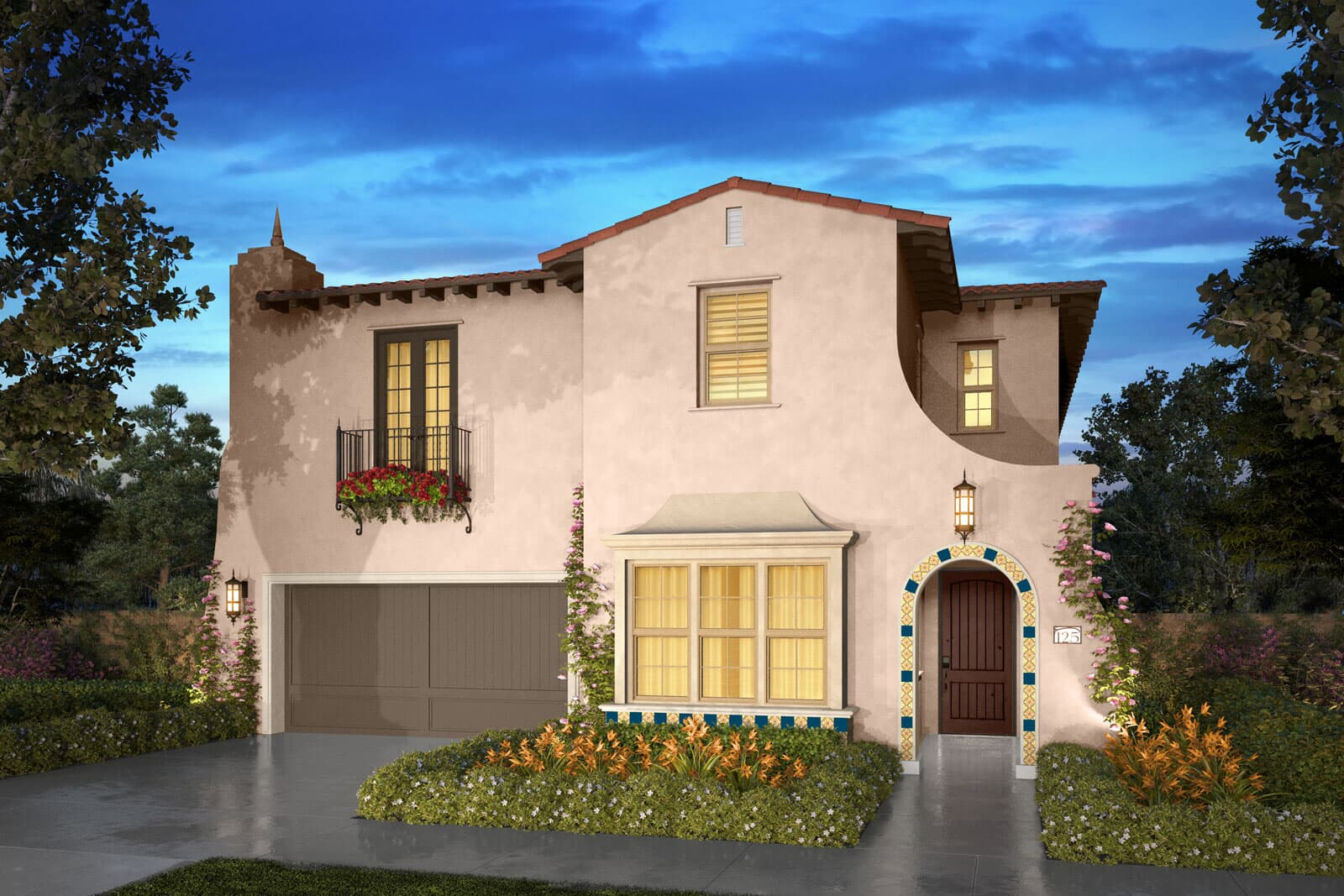 Residence 3A rendering | Beverly at Eastwood Village in Irvine, CA | Brookfield Residential