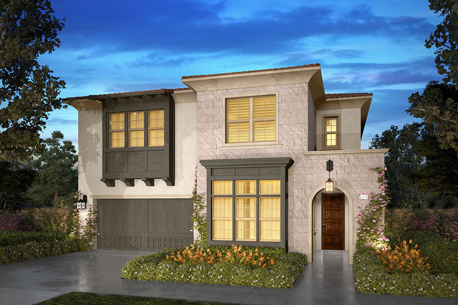 Residence 3B rendering | Beverly at Eastwood Village in Irvine, CA | Brookfield Residential