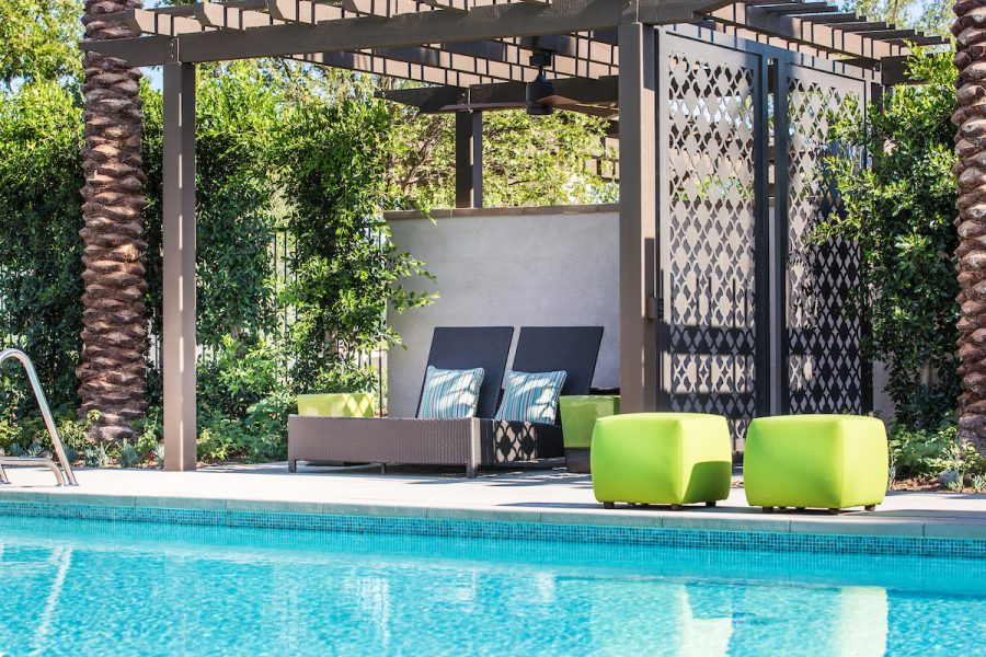 Poolside Cabana | Cameo in Whittier, CA | Brookfield Residential