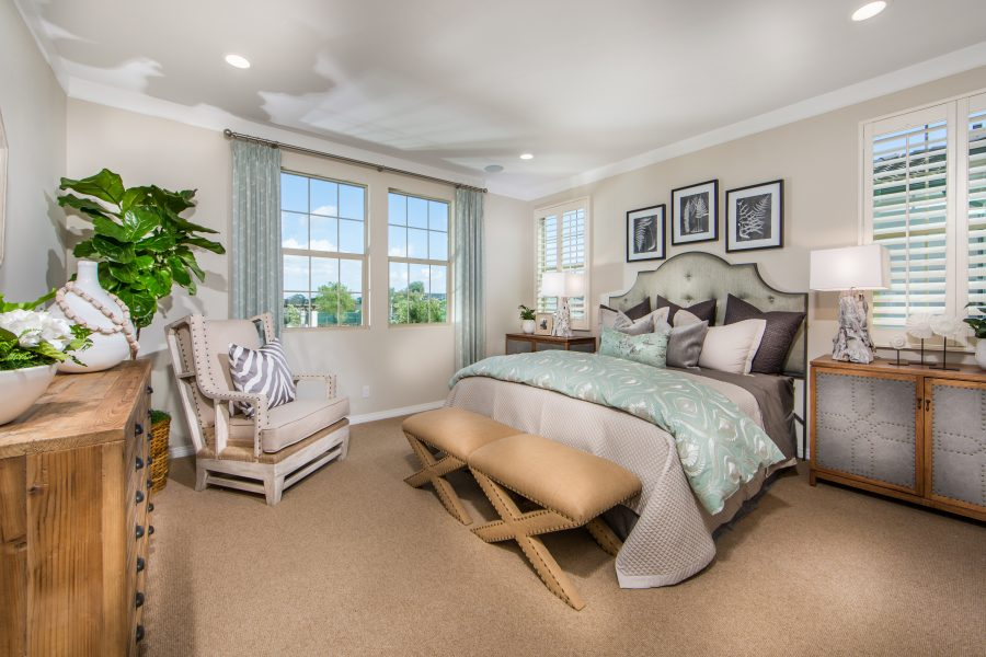 Master Bedroom | Cameo in Whittier, CA | Brookfield Residential