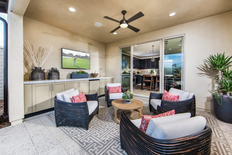 Outdoor Room | Cameo in Whittier, CA | Brookfield Residential