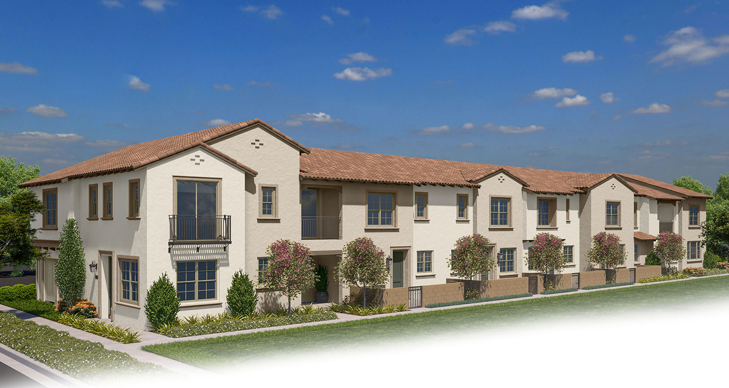 Lantana Towns 1B | Lantana at Beach | New Homes in Stanton, CA | Brookfield Residential