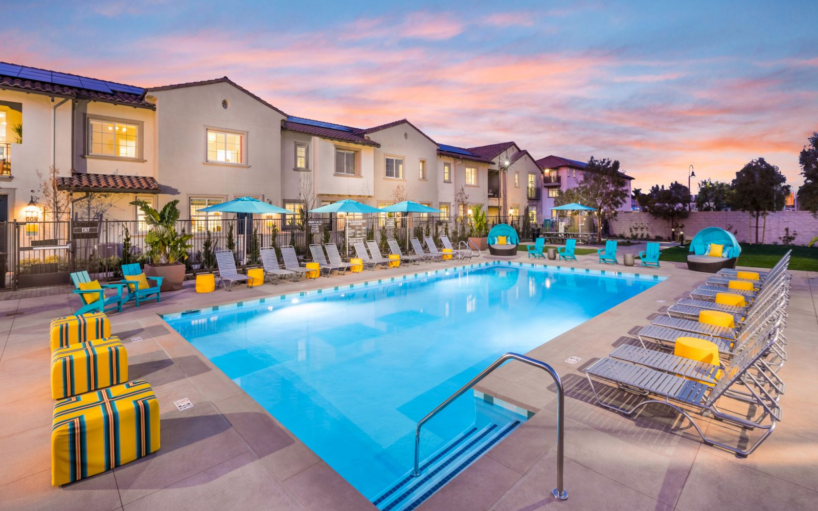 Pool Area | Lantana @Beach in Stanton, CA | Brookfield Residential
