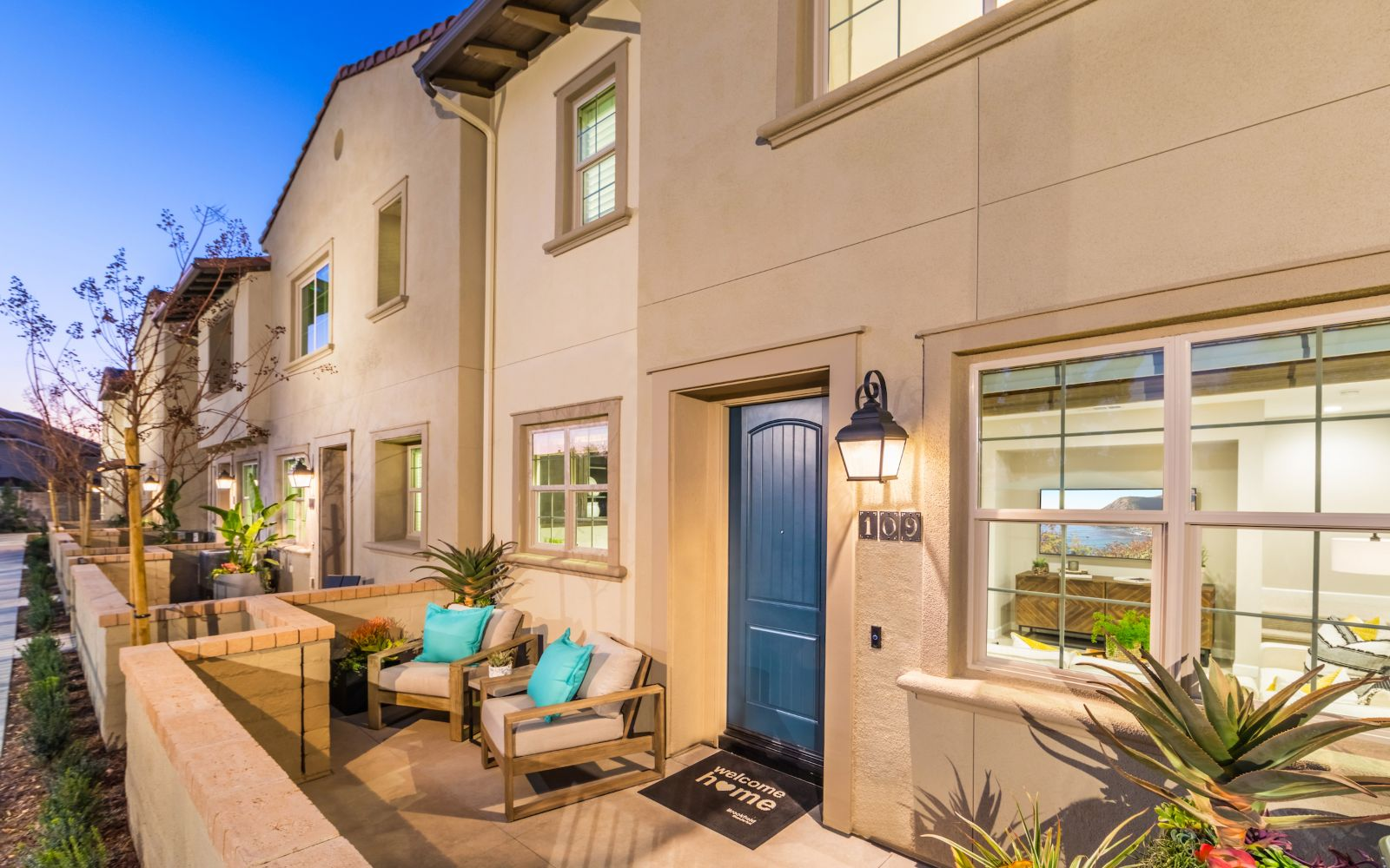 Towns Exterior | Lantana @Beach in Stanton, CA | Brookfield Residential