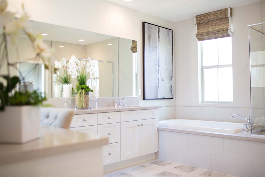 Master Bath Detail | Legado at Portola Springs in Irvine, CA | Brookfield Residential