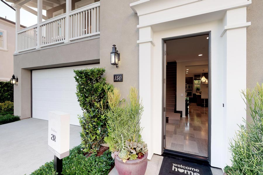Residence 2 Entry | Legado at Portola Springs in Irvine, CA | Brookfield Residential