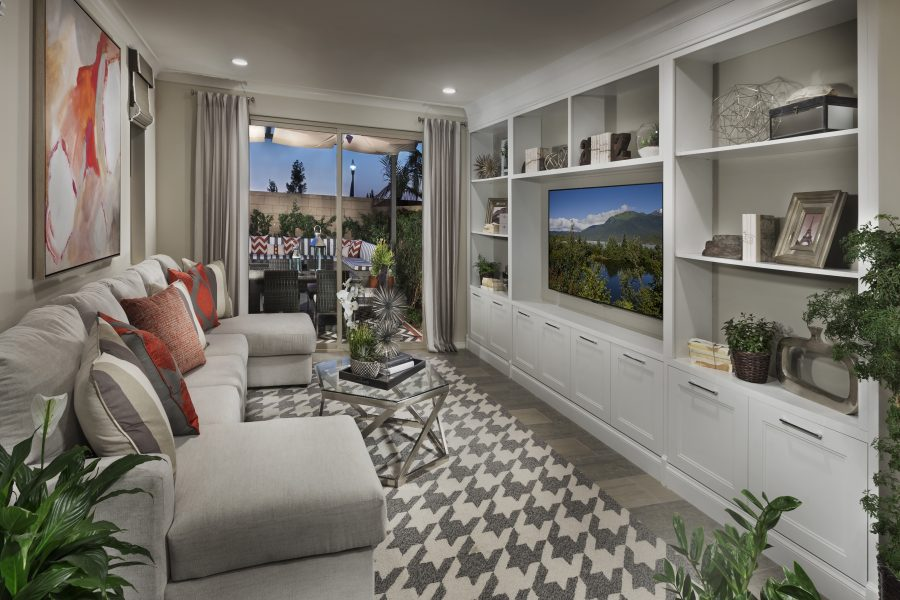 Living Room | Legado at Portola Springs in Irvine, CA | Brookfield Residential
