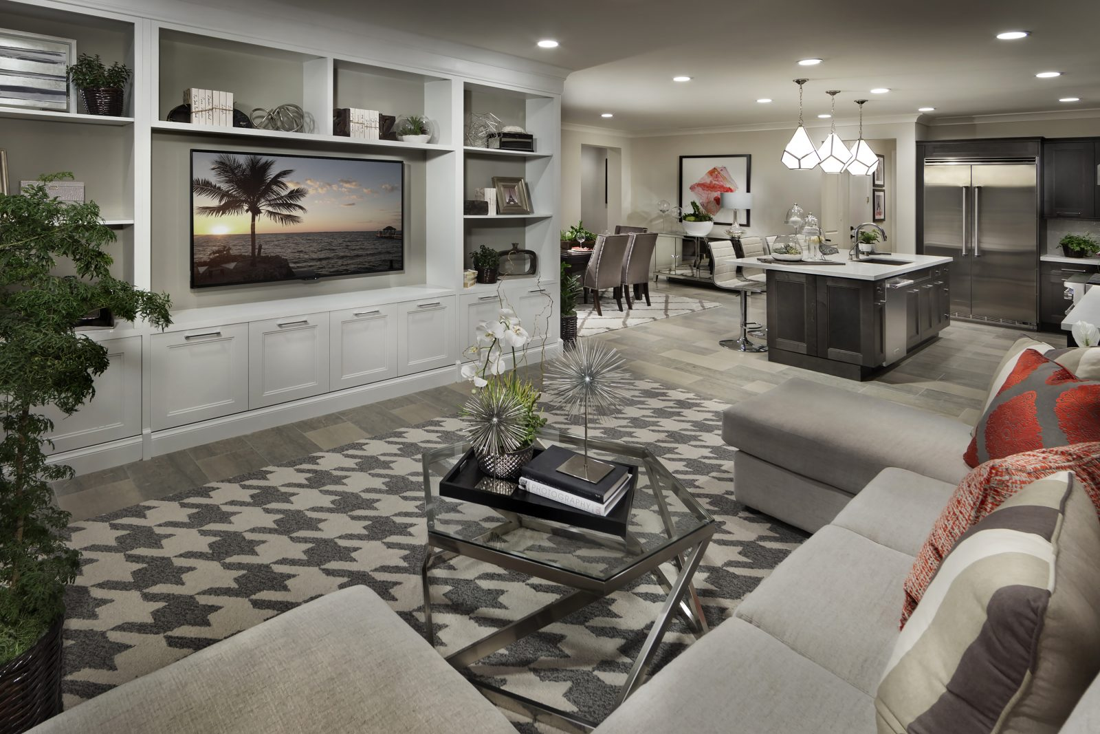 Living Room and Kitchen | Legado at Portola Springs in Irvine, CA | Brookfield Residential