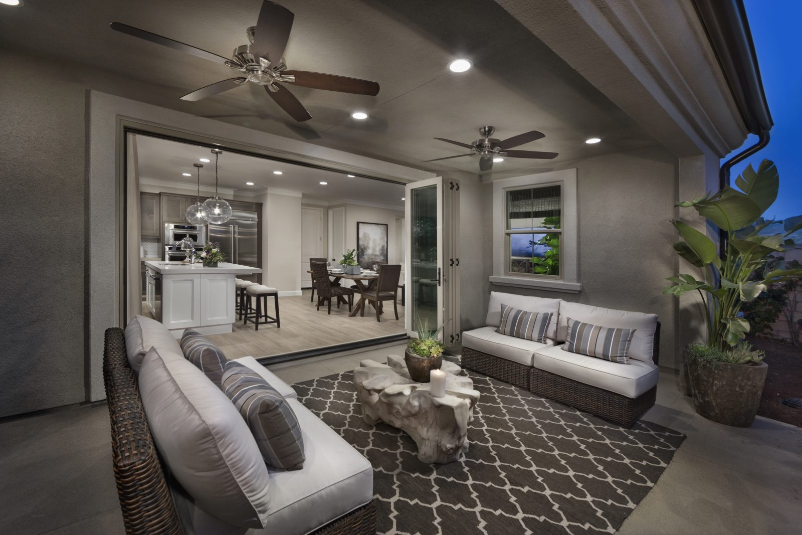 Side Patio | Legado at Portola Springs in Irvine, CA | Brookfield Residential
