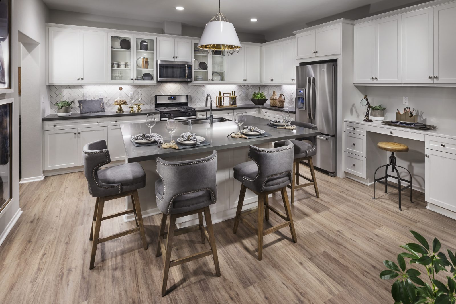 Kitchen | Aborel at New Haven in Ontario Ranch, CA | Brookfield Residential