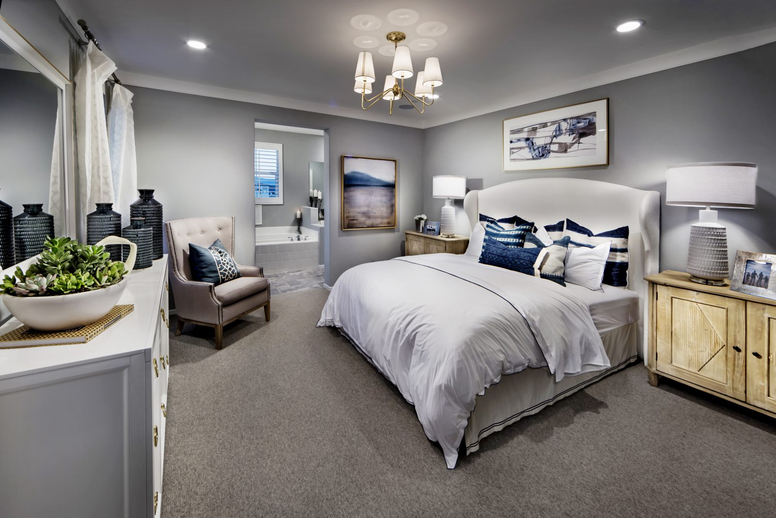 Master Bedroom | Aborel at New Haven in Ontario Ranch, CA | Brookfield Residential
