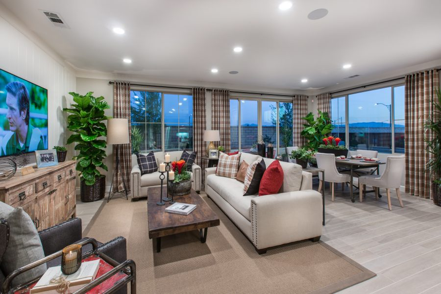 Great Room | Holiday at New Haven in Ontario Ranch, CA | Brookfield Residential