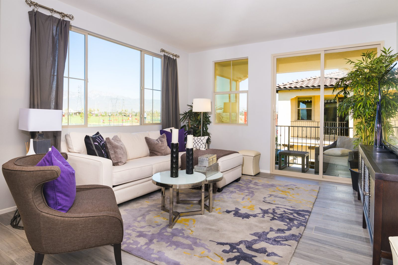 Living Room | Holiday at New Haven in Ontario Ranch, CA | Brookfield Residential