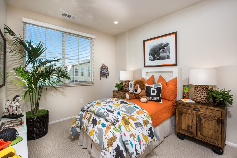 Bedroom | Holiday at New Haven in Ontario Ranch, CA | Brookfield Residential