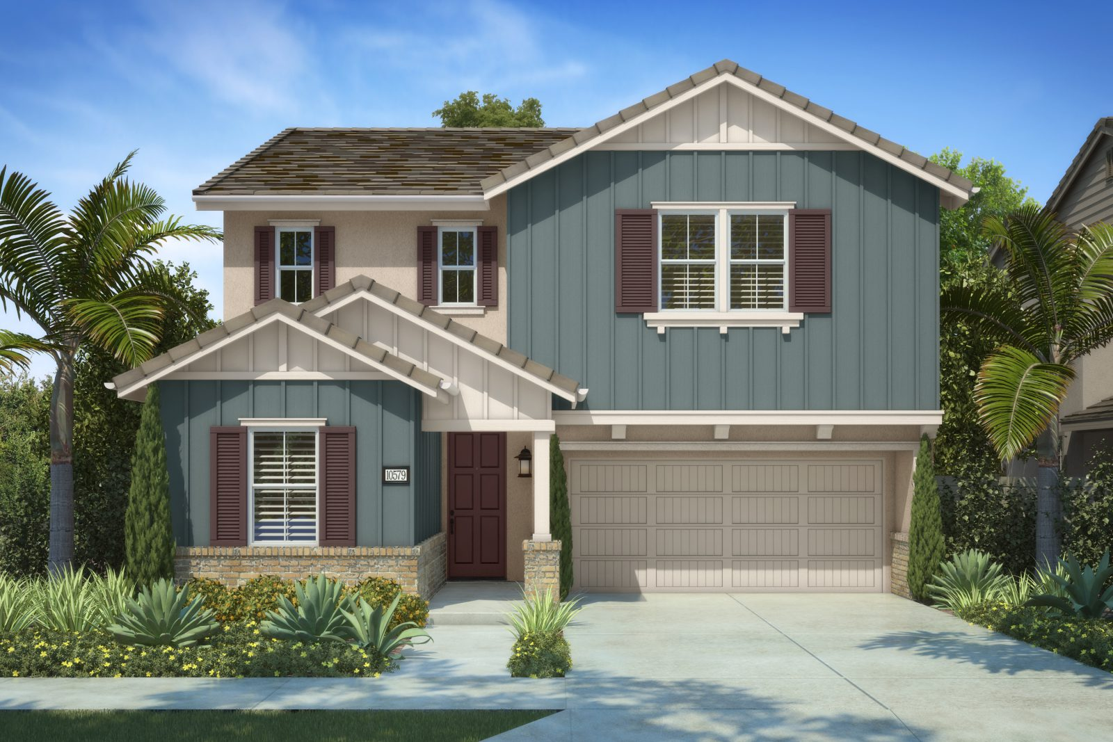 Residence 1B | Marigold at New Haven in Ontario Ranch, CA | Brookfield Residential