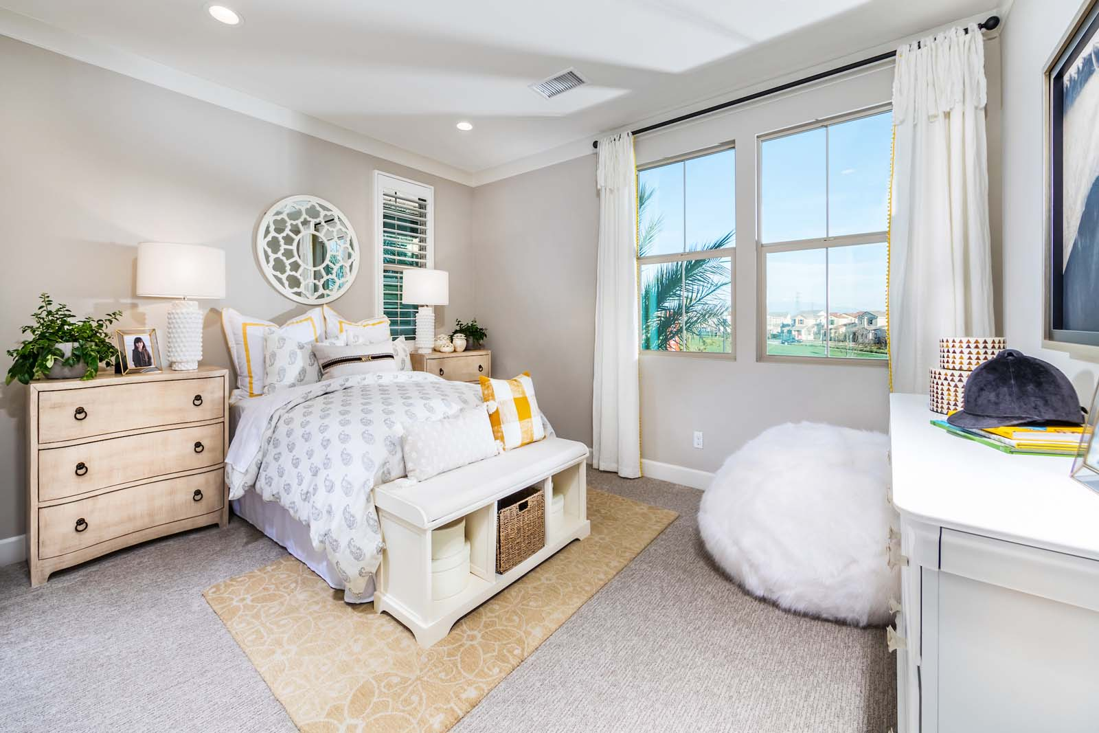 Bedroom 3 Residence 1 | Marigold at New Haven in Ontario Ranch, CA | Brookfield Residential