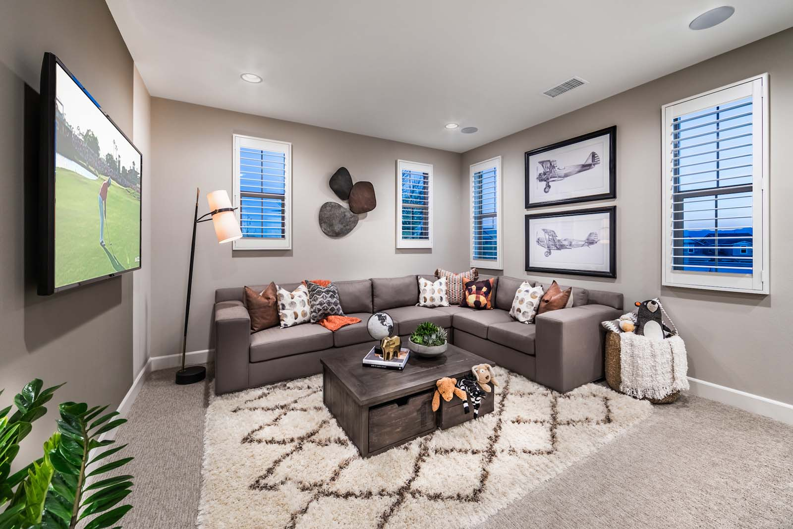 Bonus Room Residence 1 | Marigold at New Haven in Ontario Ranch, CA | Brookfield Residential