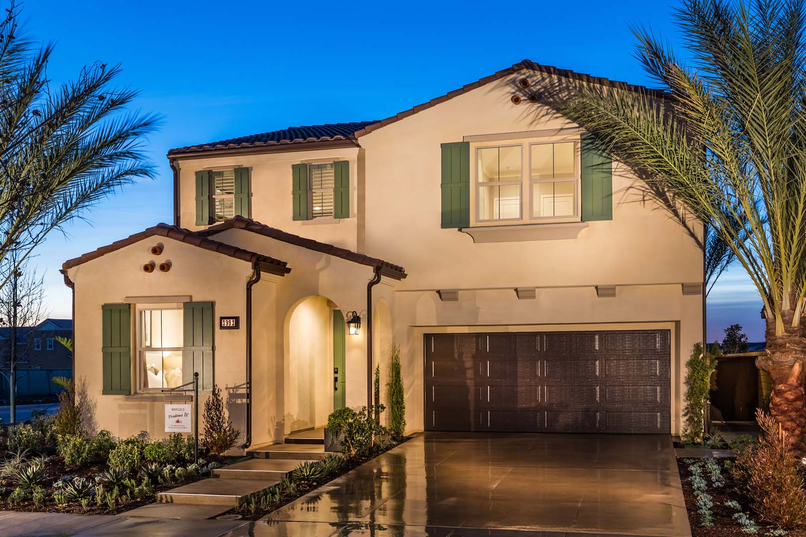Exterior Residence 1 | Marigold at New Haven in Ontario Ranch, CA | Brookfield Residential