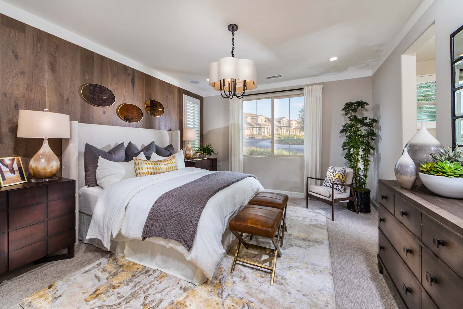 Master Bedroom Residence 1 | Marigold at New Haven in Ontario Ranch, CA | Brookfield Residential