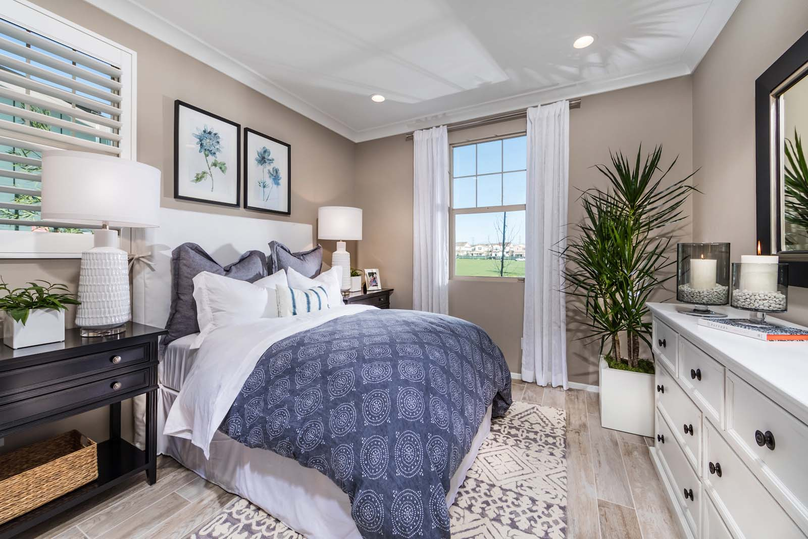 Bedroom 4 Residence 2 | Marigold at New Haven in Ontario Ranch, CA | Brookfield Residential