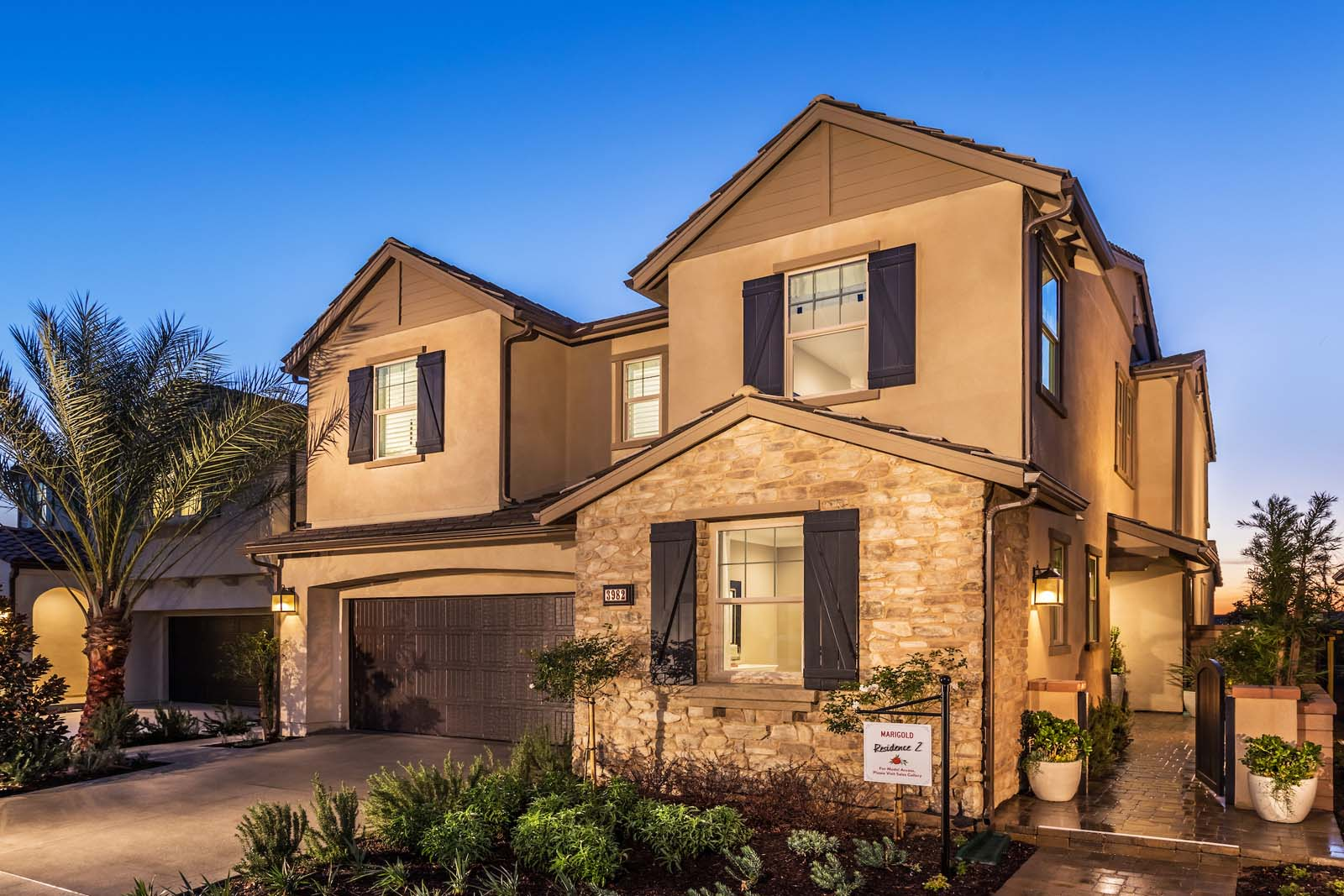 Exterior Residence 2 | Marigold at New Haven in Ontario Ranch, CA | Brookfield Residential