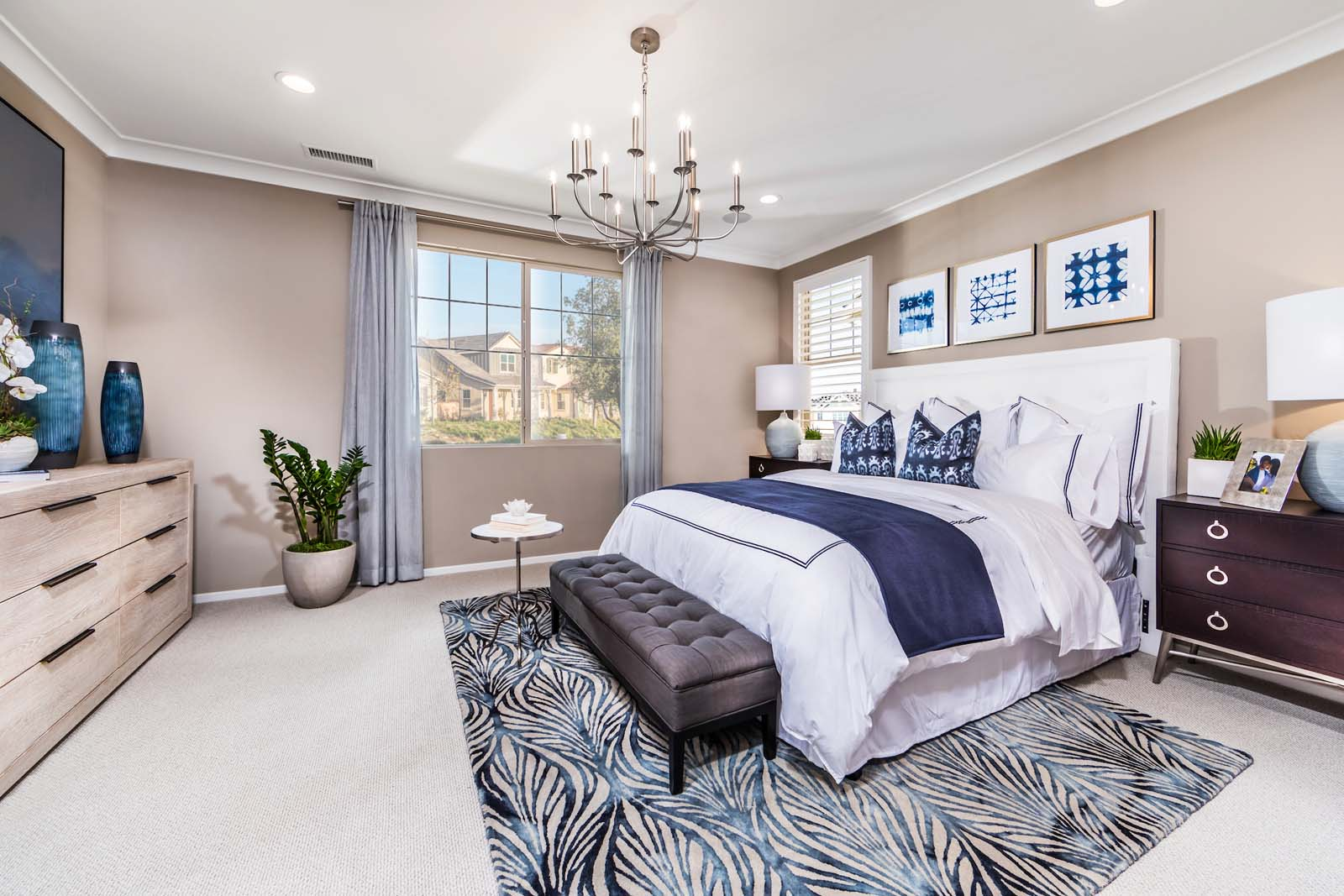 Master Bedroom Residence 2 | Marigold at New Haven in Ontario Ranch, CA | Brookfield Residential