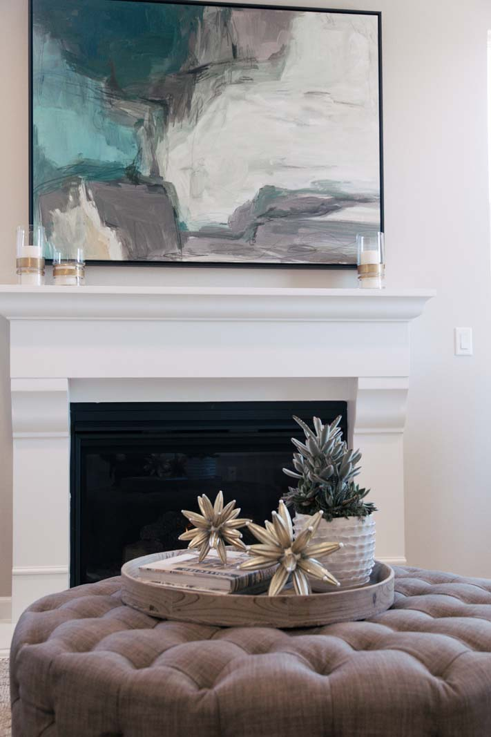 Fireplace Detail Residence 3 | Marigold at New Haven in Ontario Ranch, CA | Brookfield Residential