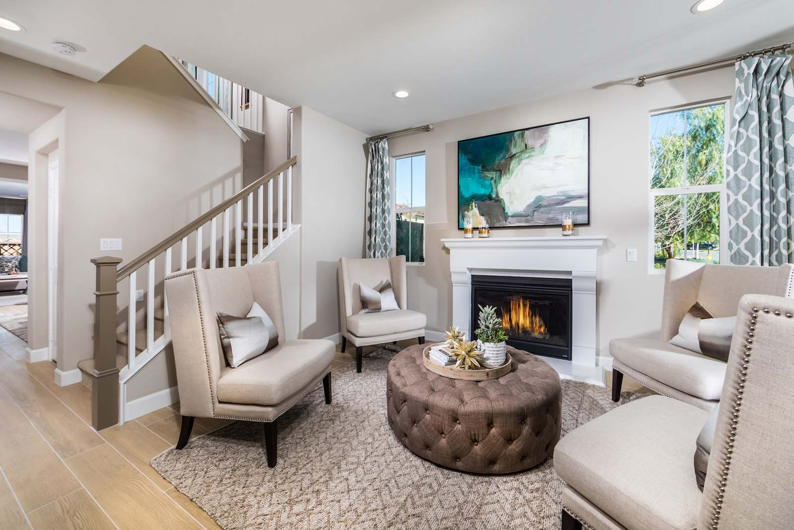 Living Entry Residence 3 | Marigold at New Haven in Ontario Ranch, CA | Brookfield Residential