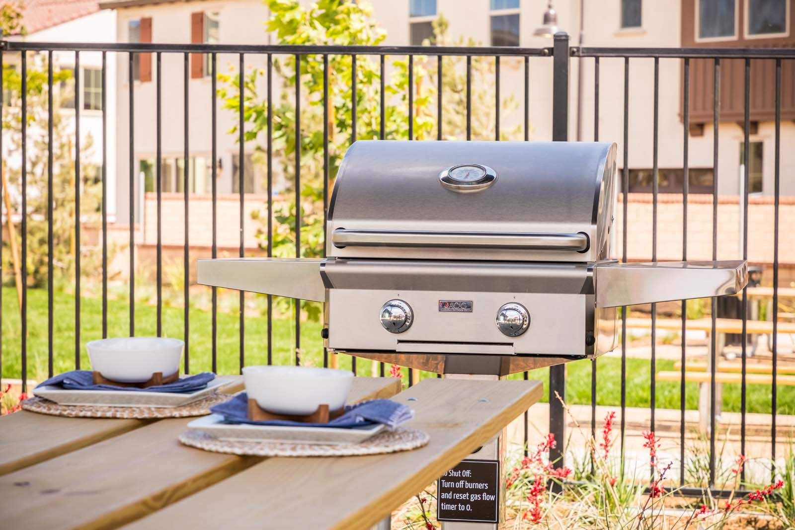 Barbecue at Cherry Park | New Haven in Ontario Ranch, CA | Brookfield Residential