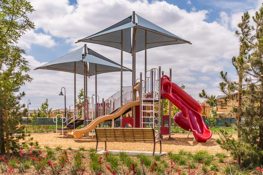 Playground at Cherry Park | New Haven in Ontario Ranch, CA | Brookfield Residential