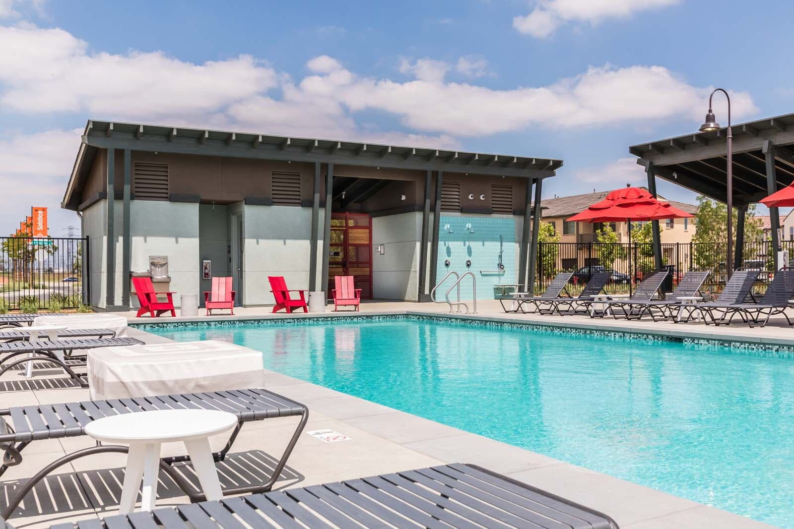 Pool at Cherry Park | New Haven in Ontario Ranch, CA | Brookfield Residential