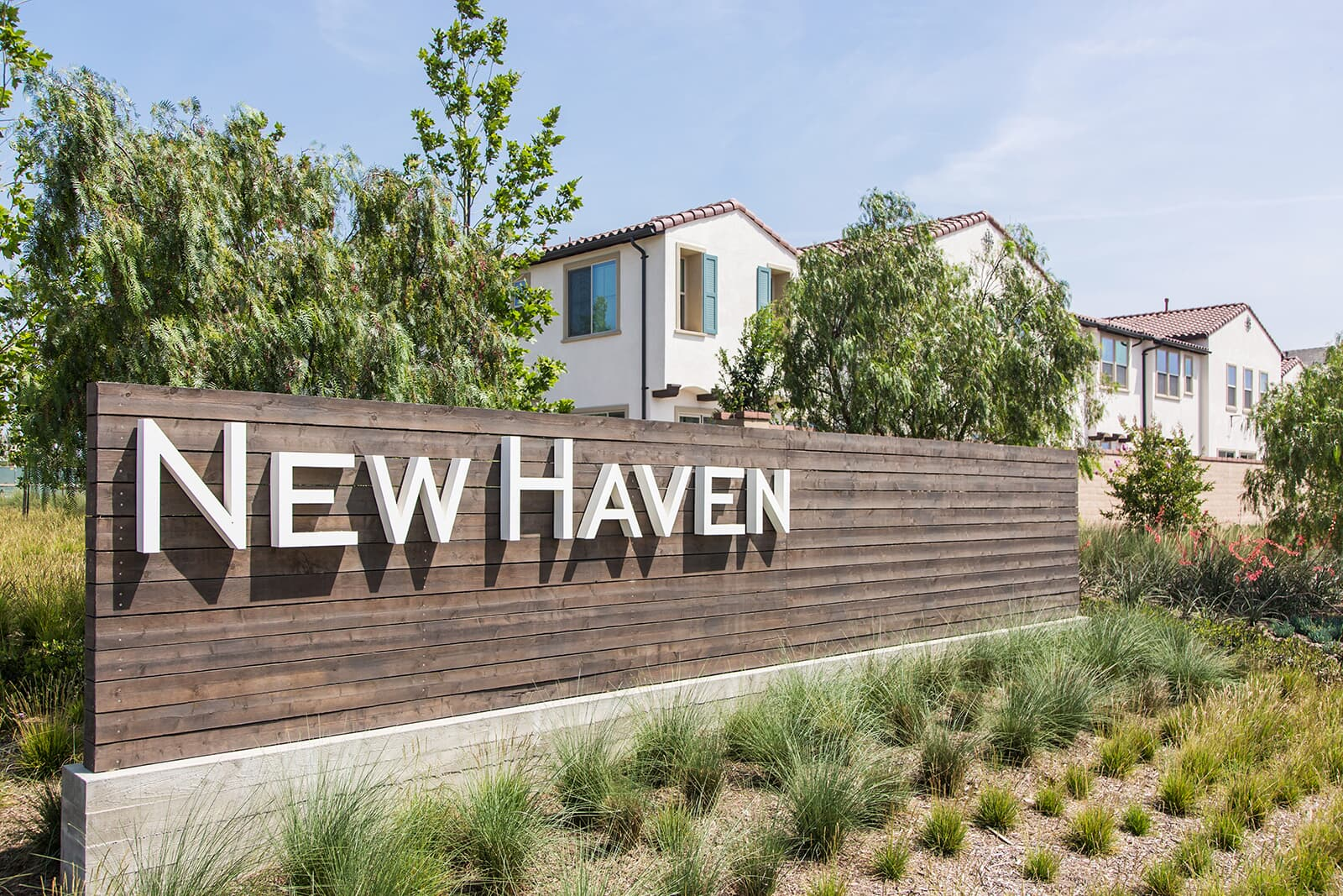 New Haven sign at New Haven in Ontario Ranch, CA | Brookfield Residential