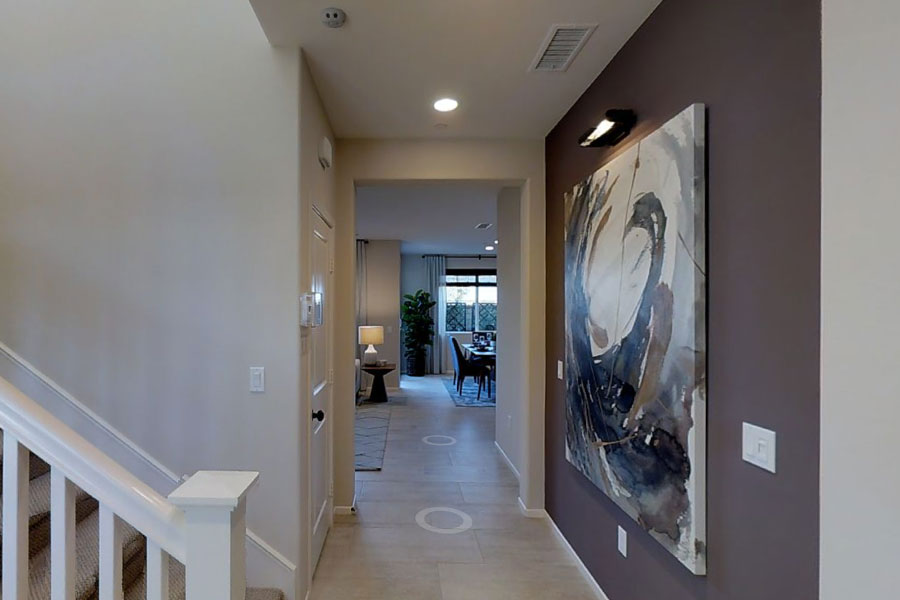 Hallway | Poppy at New Haven in Ontario Ranch, CA | Brookfield Residential