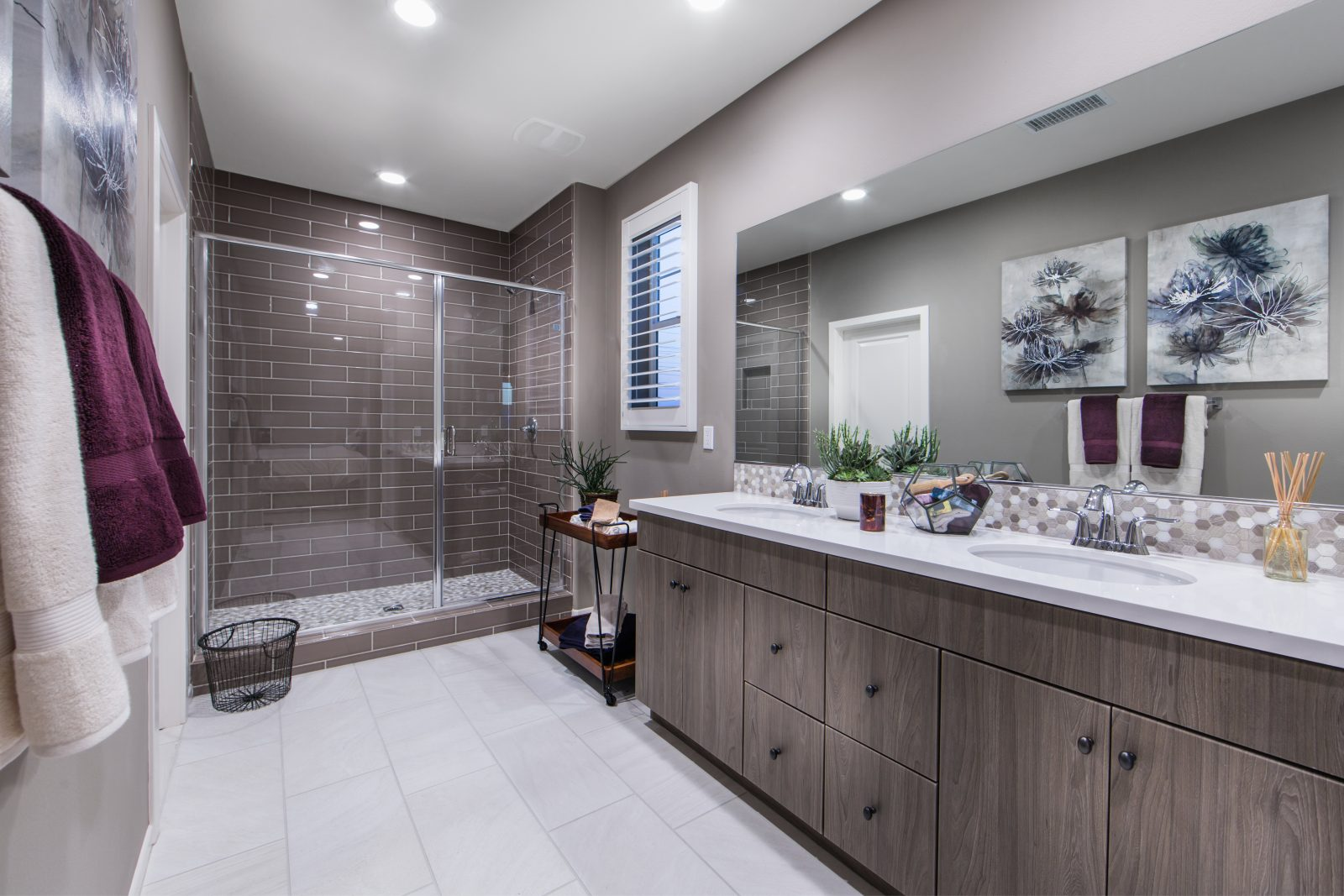 Master Bath | Poppy at New Haven in Ontario Ranch, CA | Brookfield Residential