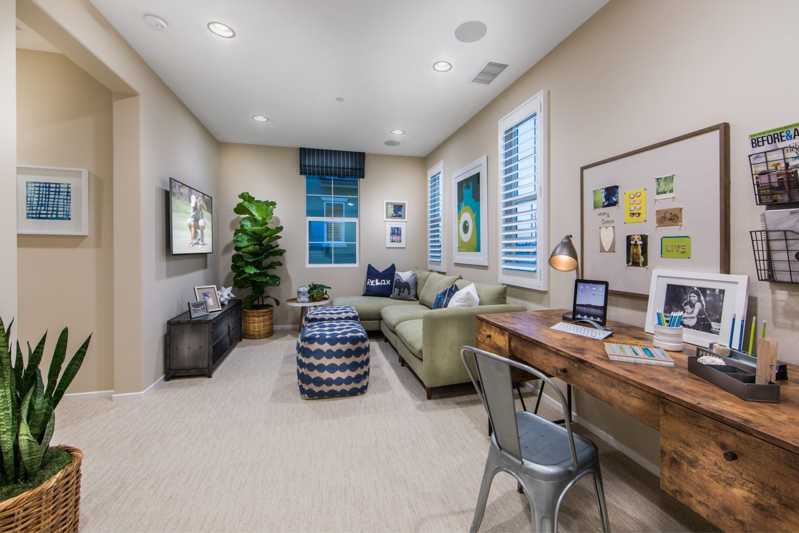 Bonus Room | Poppy at New Haven in Ontario Ranch, CA | Brookfield Residential