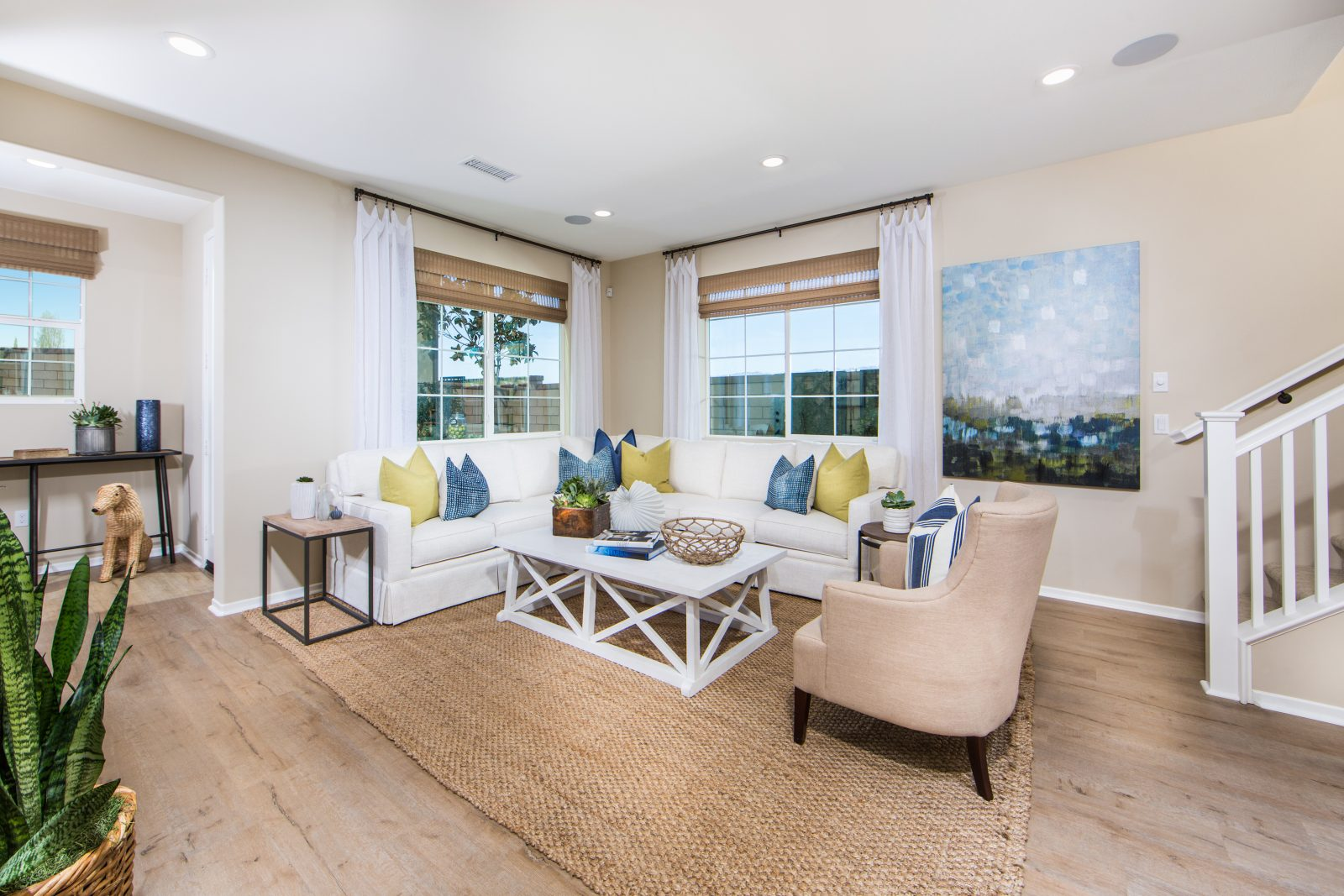 Great Room | Poppy at New Haven in Ontario Ranch, CA | Brookfield Residential
