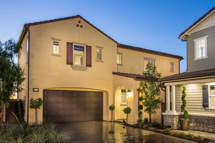 Exterior | Poppy at New Haven in Ontario Ranch, CA | Brookfield Residential