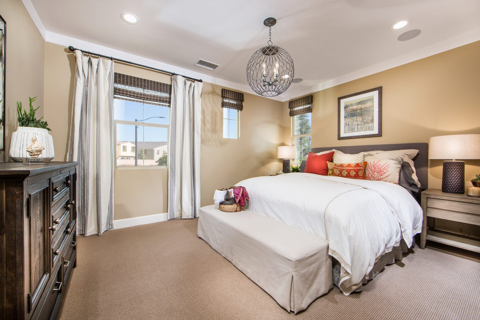 Master Bedroom | Poppy at New Haven in Ontario Ranch, CA | Brookfield Residential