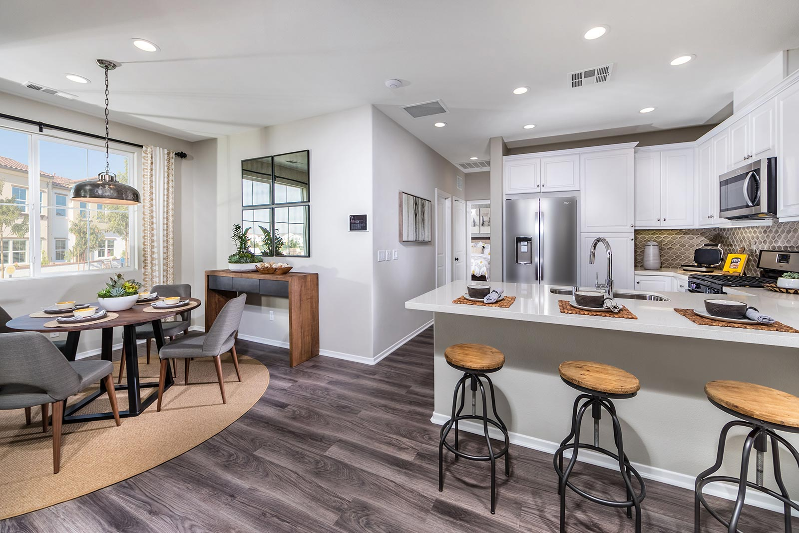 Plan 1 Kitchen | Solstice at New Haven in Ontario Ranch, CA | Brookfield Residential