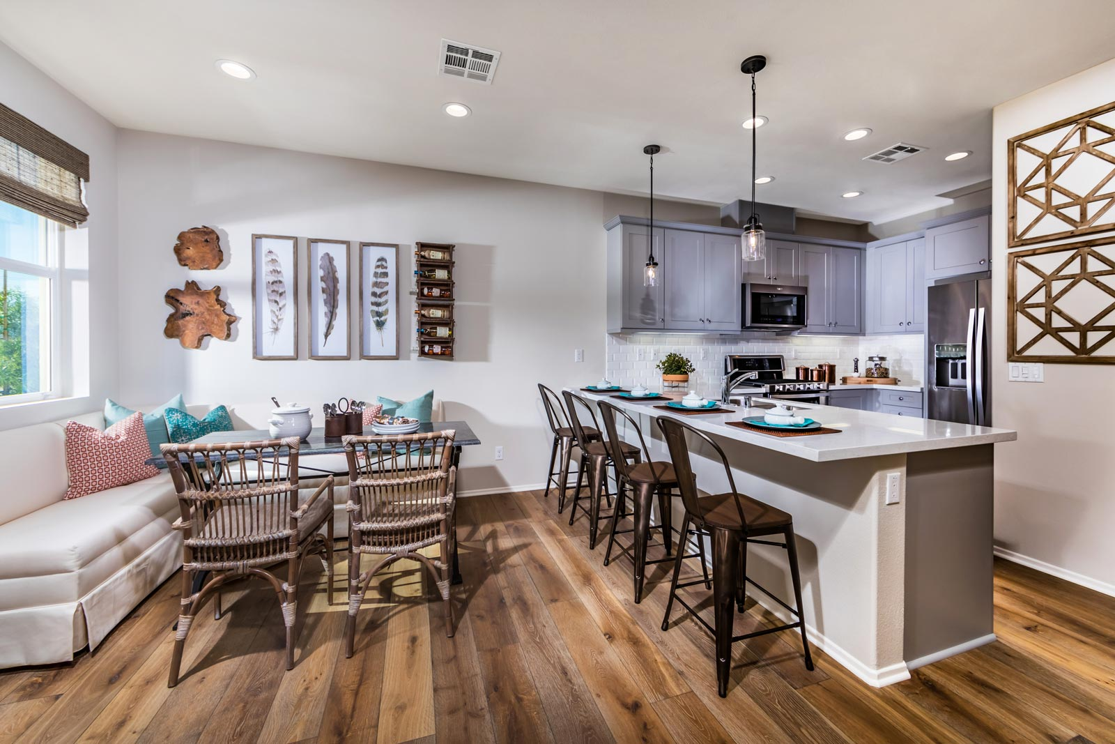 Plan 2 Kitchen | Solstice at New Haven in Ontario Ranch, CA | Brookfield Residential