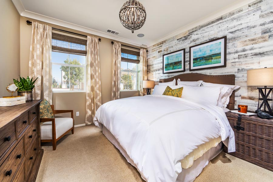 Plan 2 Master Bedroom | Solstice at New Haven in Ontario Ranch, CA | Brookfield Residential
