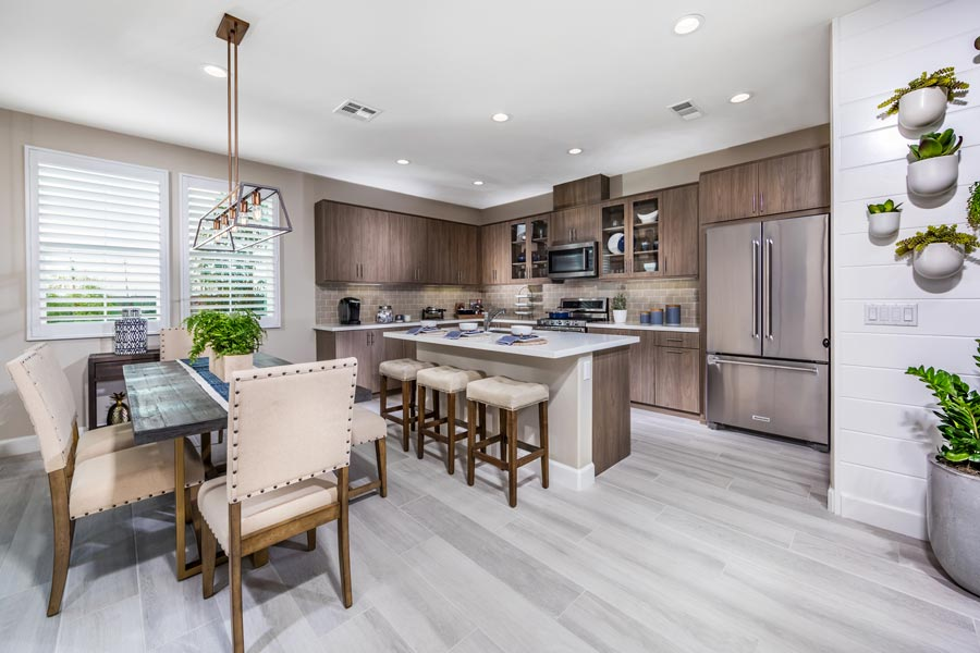 Plan 3 Kitchen | Solstice at New Haven in Ontario Ranch, CA | Brookfield Residential